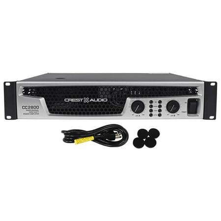Crest Audio CC2800 CC Series Amp 2800 Watt Professional Power Amplifier