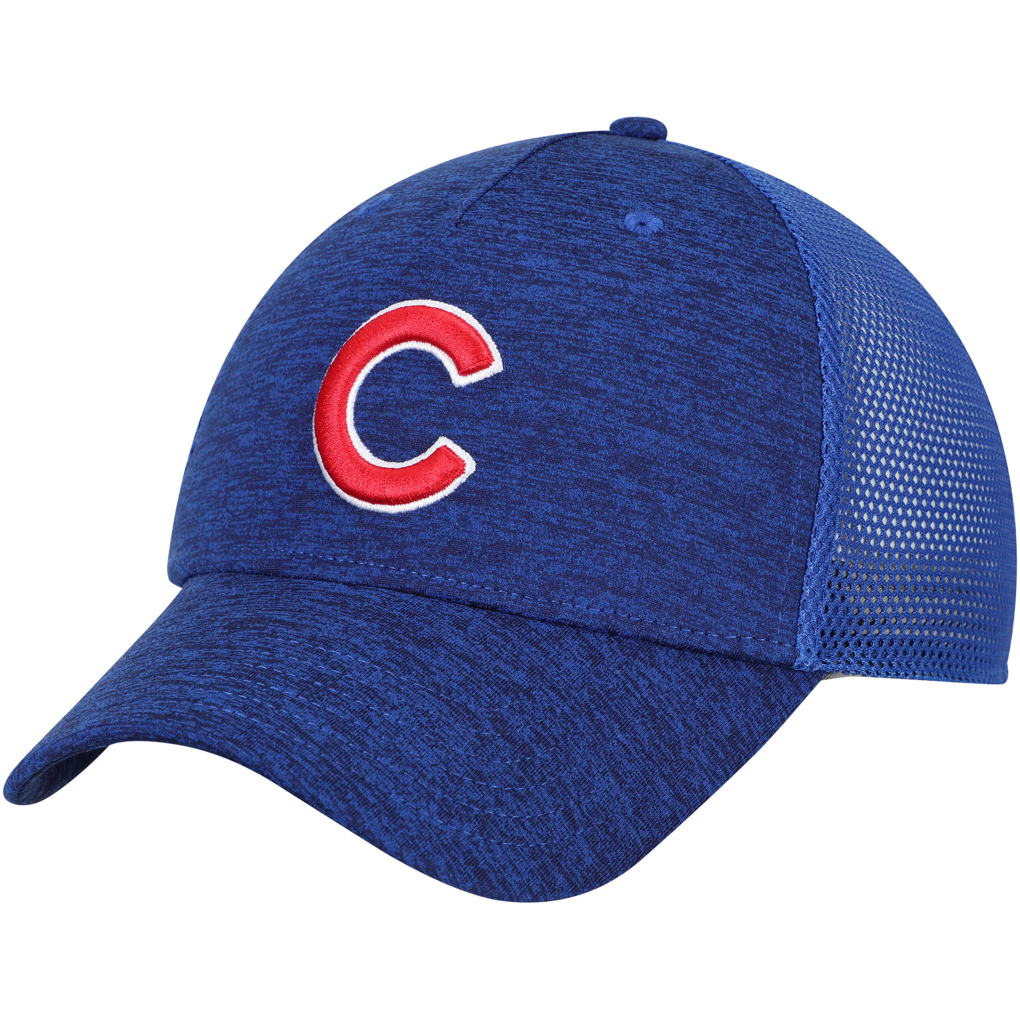Chicago Cubs Under Armour Twist Closer Trucker Performance Adjustable Hat - Royal - OSFA