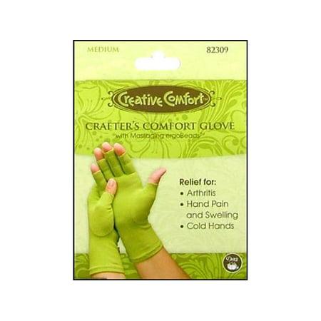 Dritz Creative Comfort Crafters Comfort Glove Med