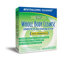 Nature's Way Enzymatic Therapy 10-Day Whole Body Cleanse Kit, 104 Ct