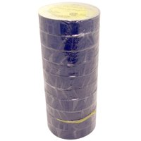 """Blue Electrical Tape 3/4"""" x 66 ft Roll 7 mil (10 Pack)"""