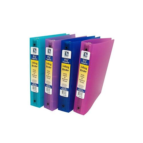 C LINE 3 RING BINDER 1.5IN CAPACITY CLI31720