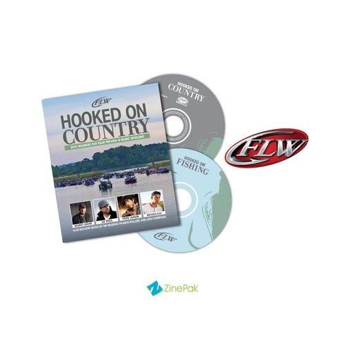 FLW Presents: Hooked On Country 2014 ZinePak (CD/DVD) (Walmart Exclusive)