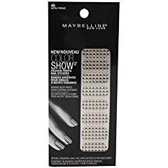 Maybelline Limited Edition Color Show Fashion Prints Nail Stickers - 40 Metal...