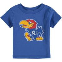 Kansas Jayhawks Infant Big Logo T-Shirt - Royal