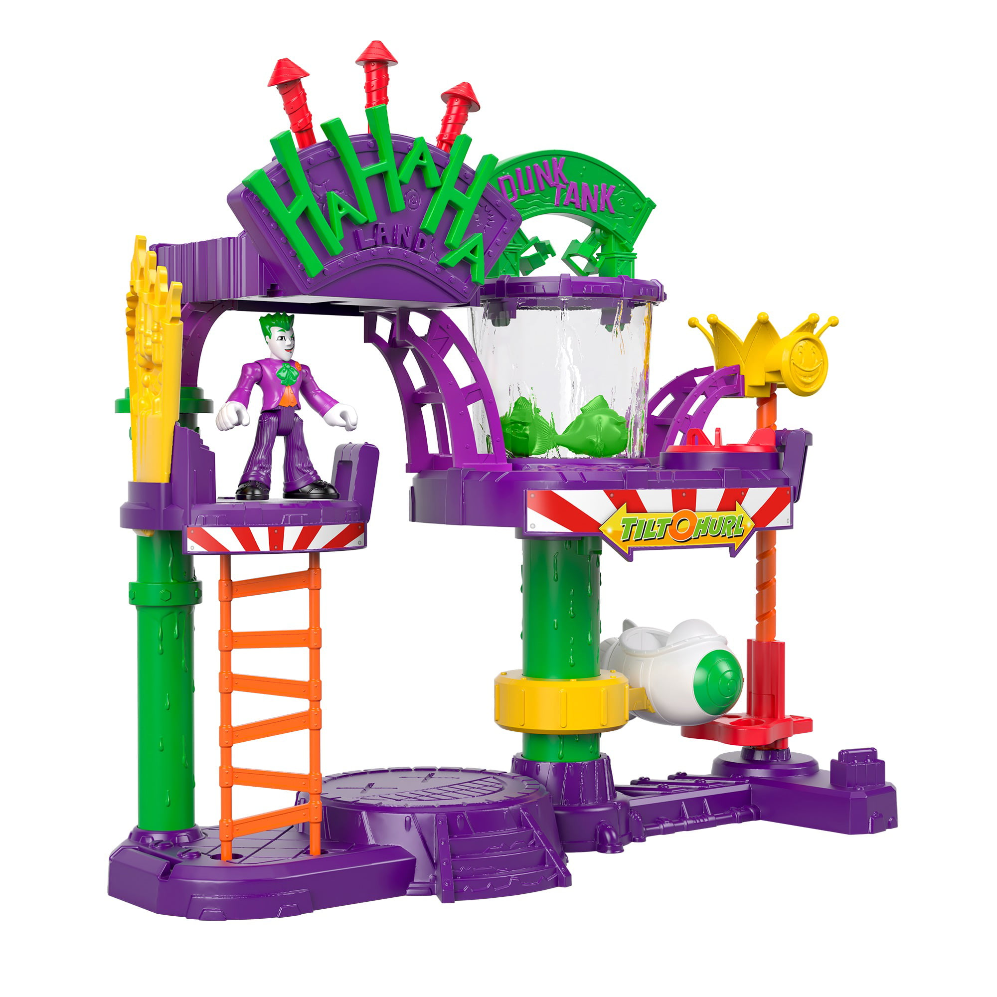 Imaginext DC Super Friends The Joker Laff Factory Playset - Walmart.com