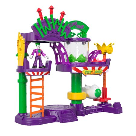 Imaginext DC Super Friends The Joker Laff Factory Playset