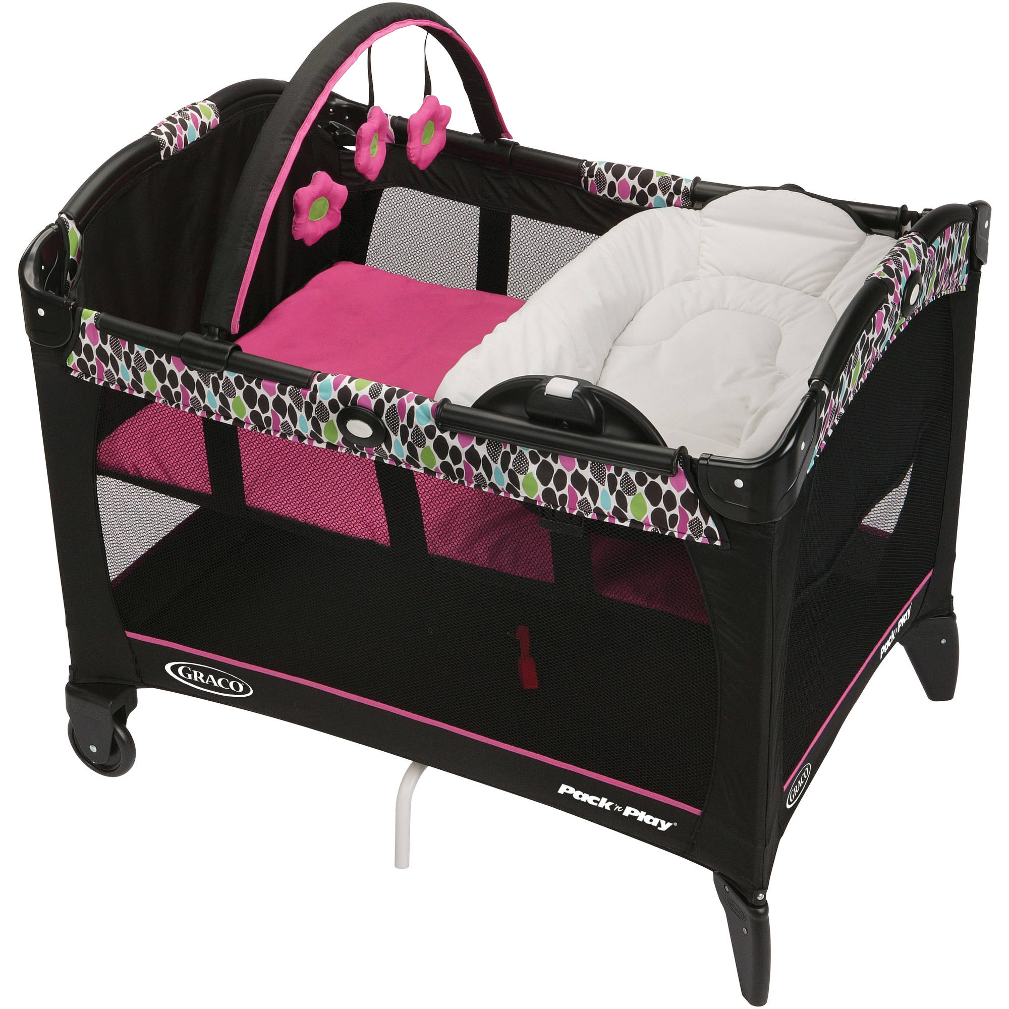 Graco Pack 'n Play Playard with Reversible Napper, Maci