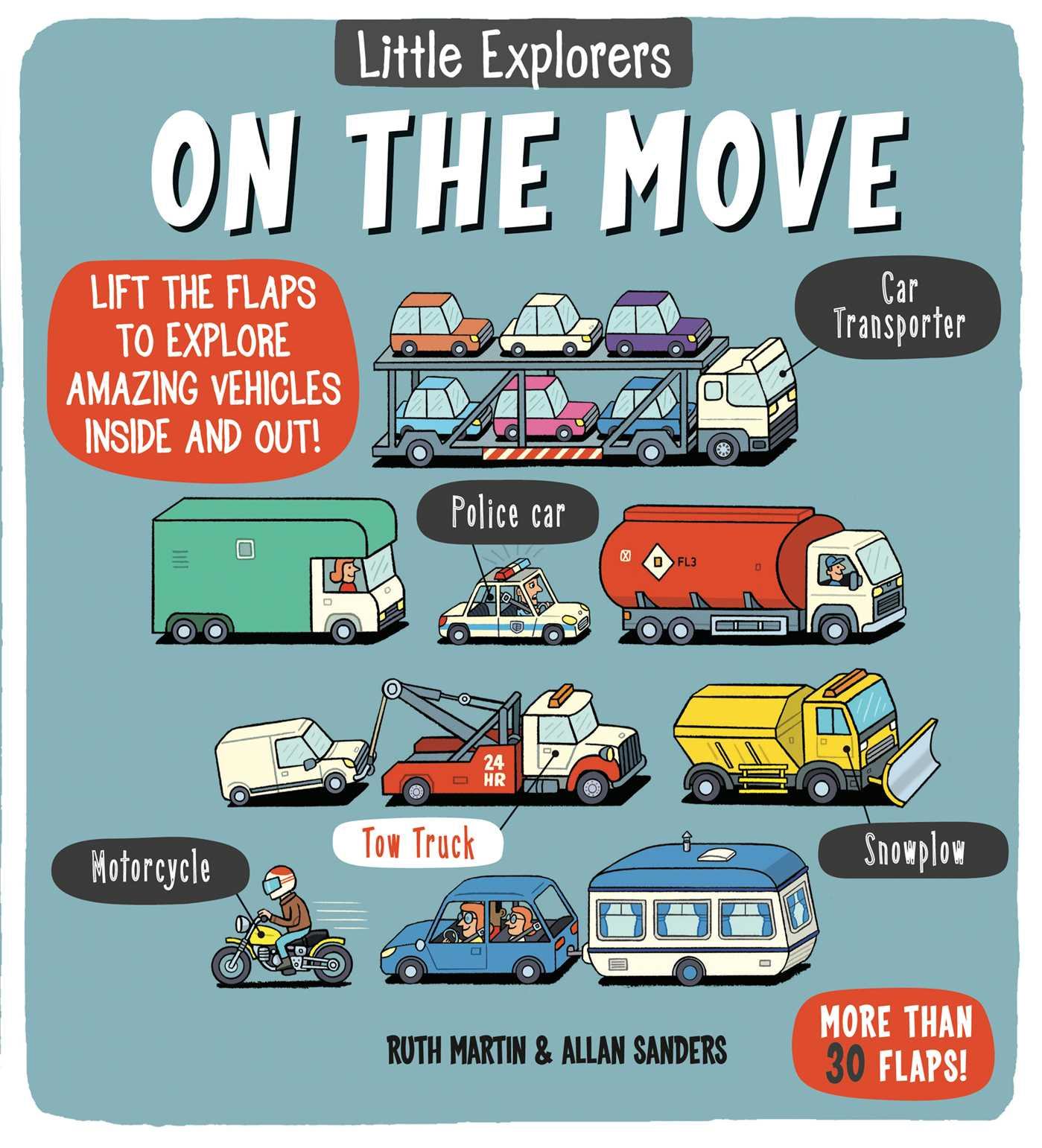Little Explorers: On the Move (Costco) (Board Book)