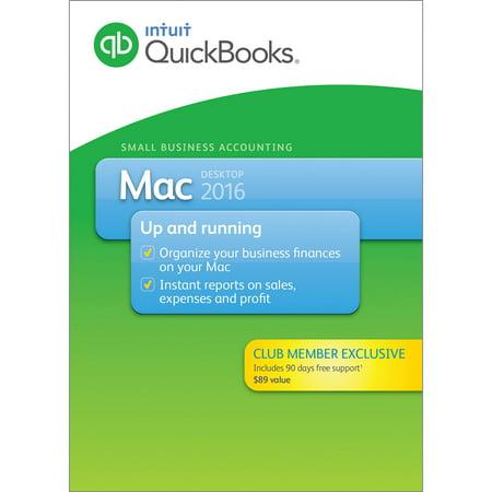 QuickBooks Pro Mac 2016