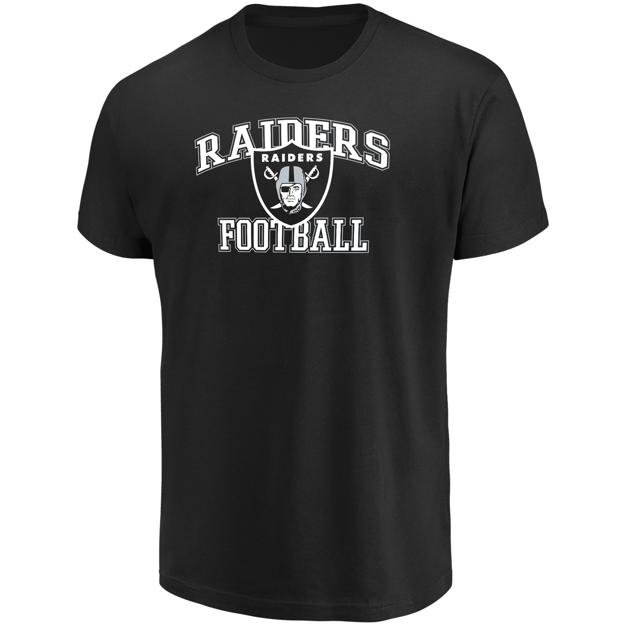 Men's Majestic Black Oakland Raiders Greatness T-Shirt