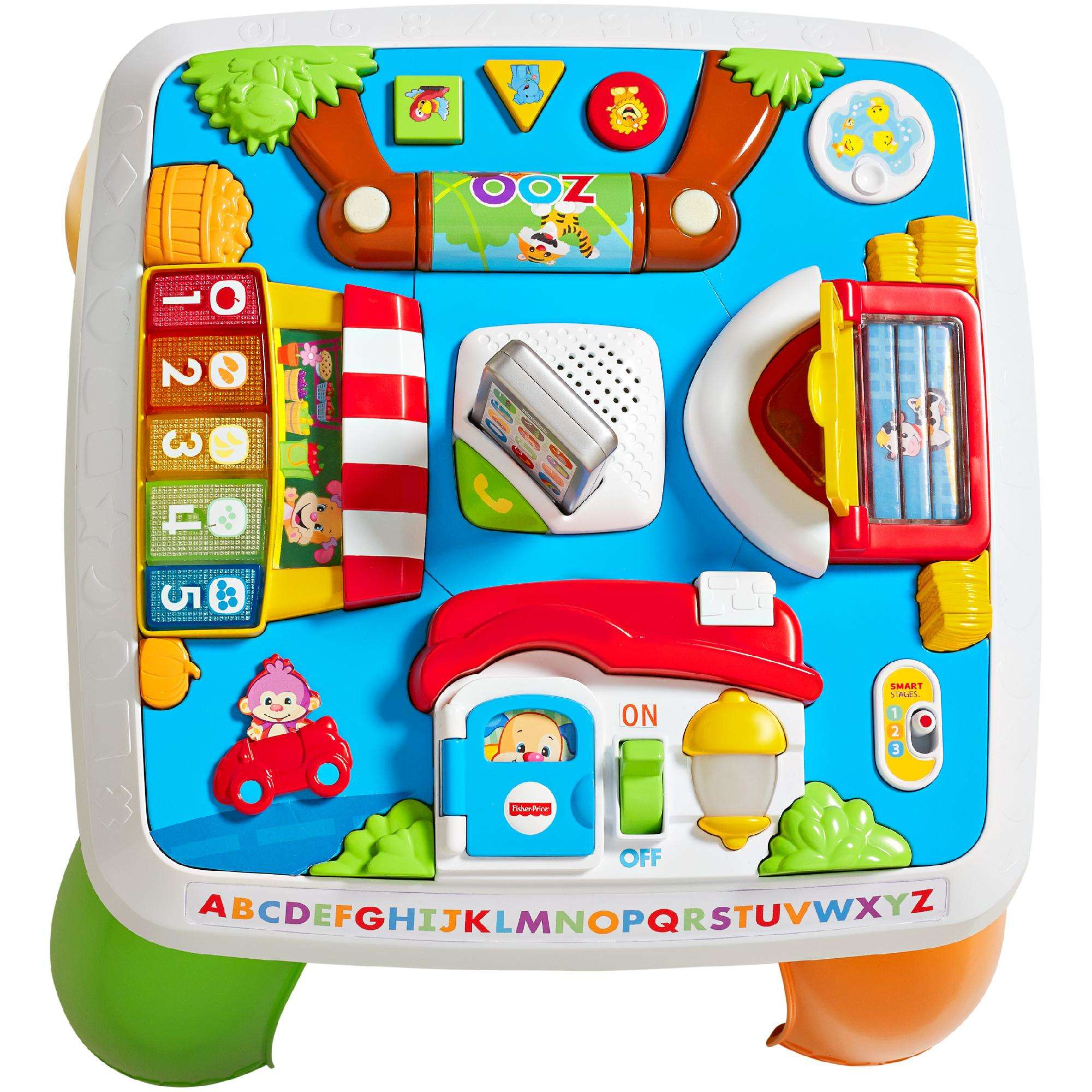 Fisher-Price Laugh & Learn Around the Town Learning Table - Walmart.com