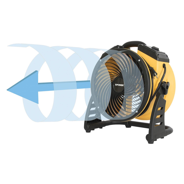 XPOWER FC-100 4-Speed Pro Air Circulator Utility Fan