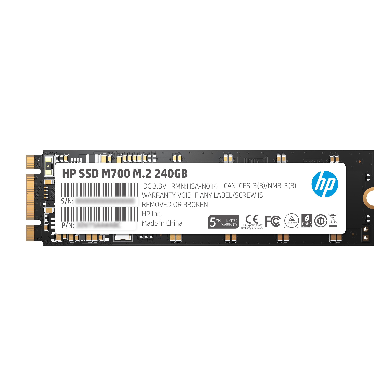 HP M700 240GB M.2 SATA III SSD (Solid State Drive)