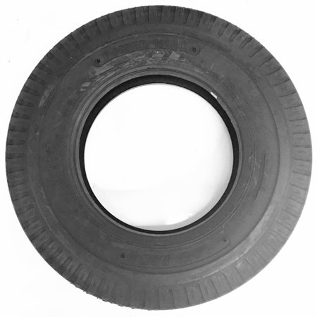 Trailer Tire 7x14.5 7-14.5 Load F Bias 2300 Lb. Capacity Open Donut Mobile Home Trailer Load Capacity