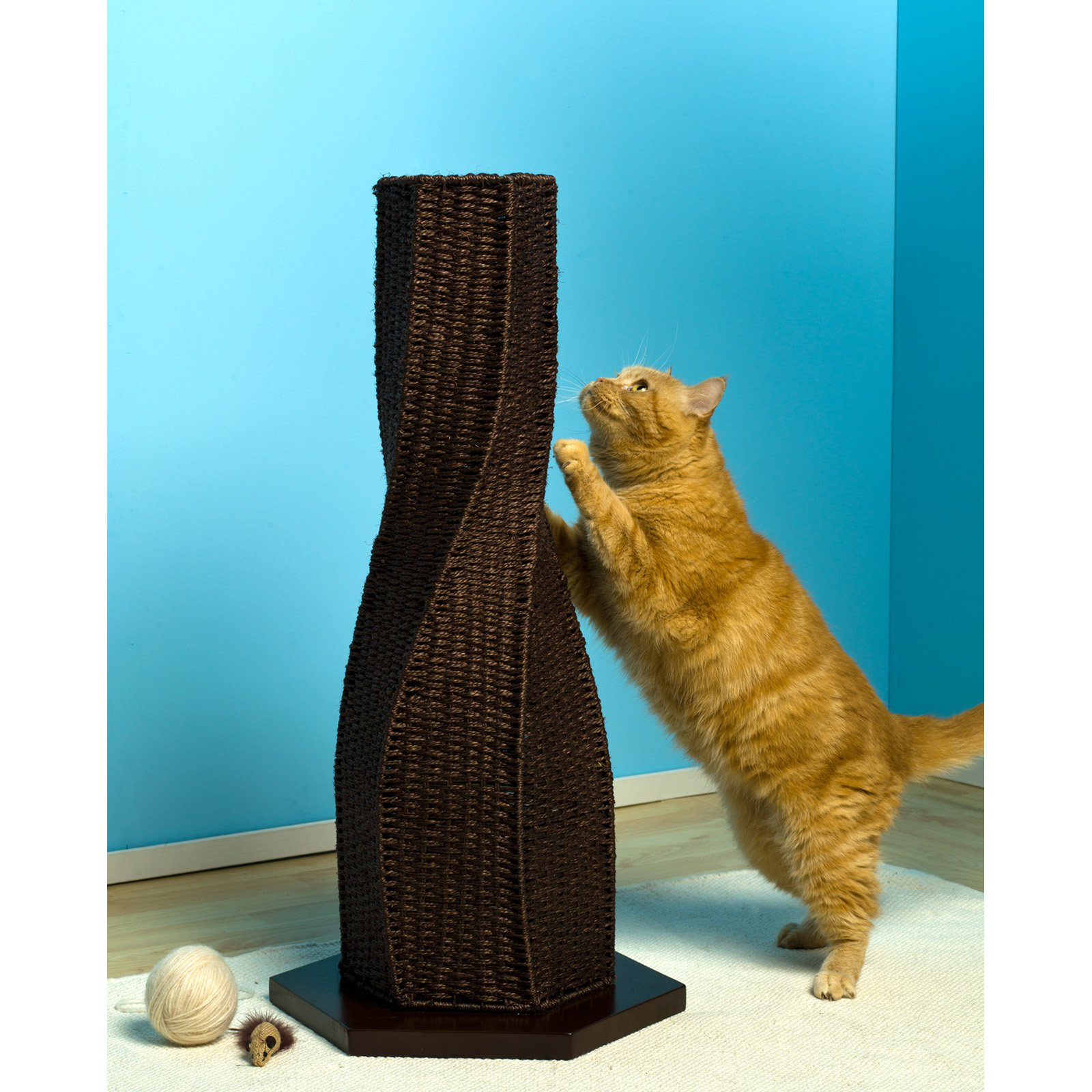 Refined Feline Calypso Cat Scratcher