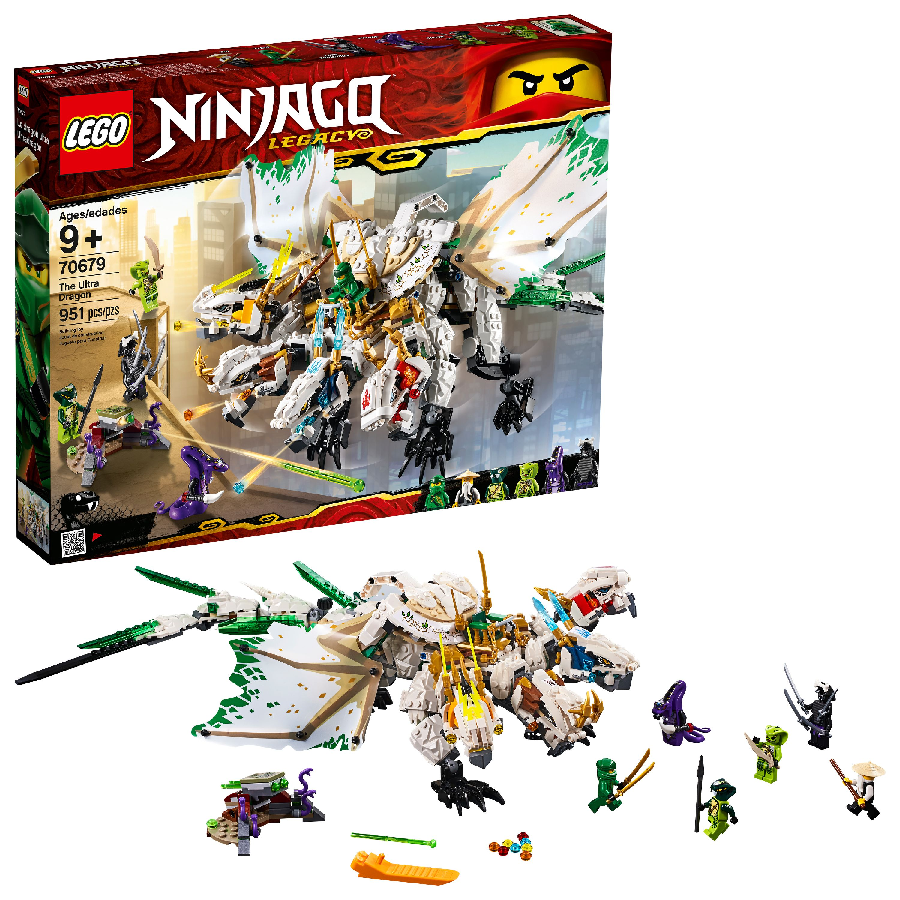 LEGO Ninjago The Ultra Dragon 70679 Ninja Dragoy Toy