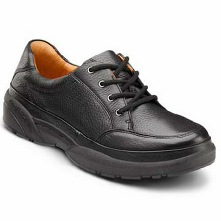 Justin Original Lace (Dr. Comfort Justin Men's Casual Shoe: 13 Wide (E/2E) Black Lace )