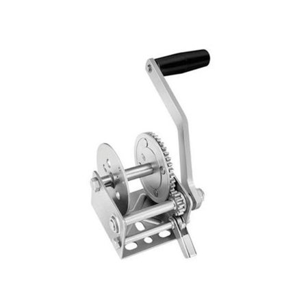 Cequent 142001 Single Speed Winch - 3.1:1 Gear Ratio,