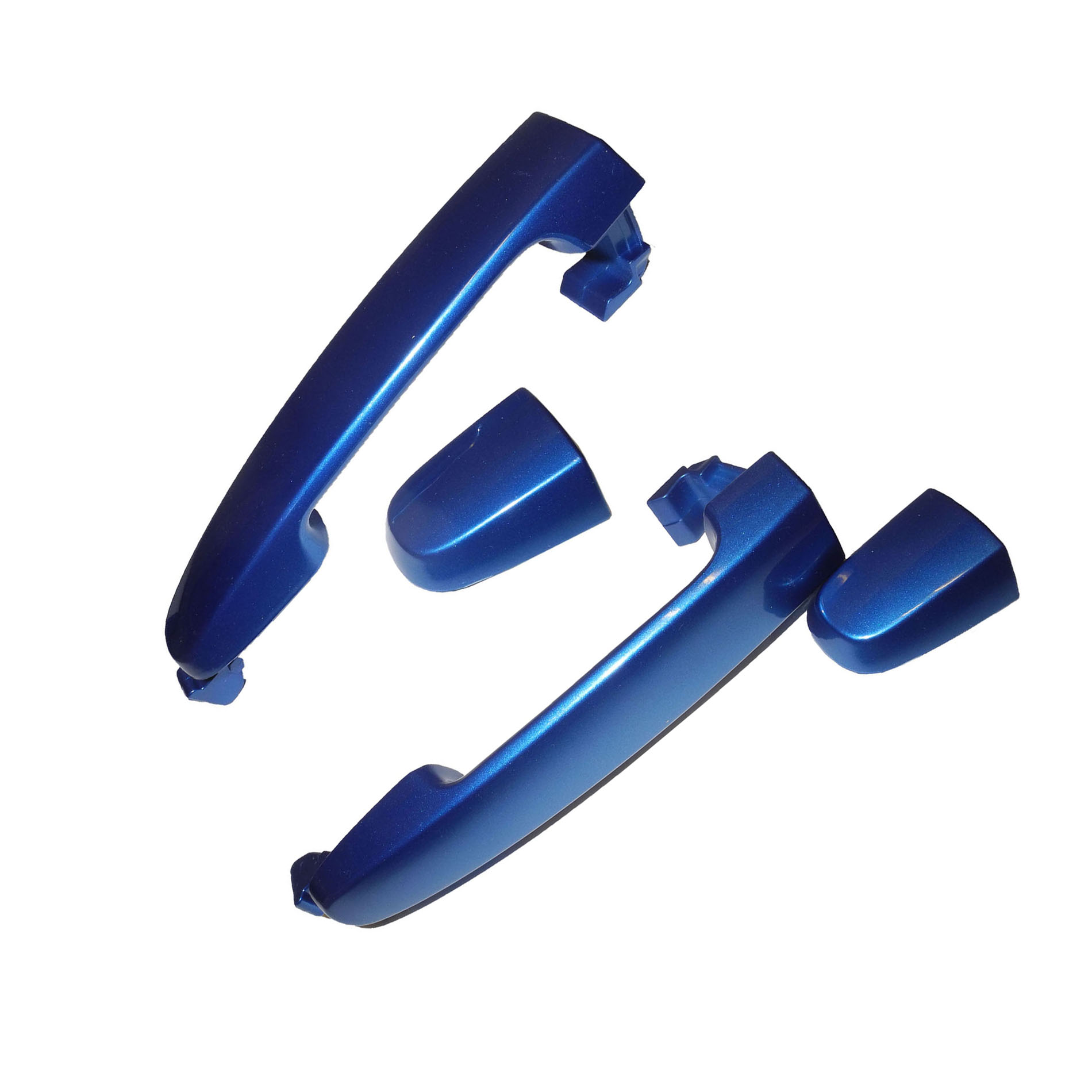 For Rear 02-06 TOYOTA Camry Blue Mica 8Q1 W/O Keyhole DS533 Outer Door Handle 02 03 04 05 06