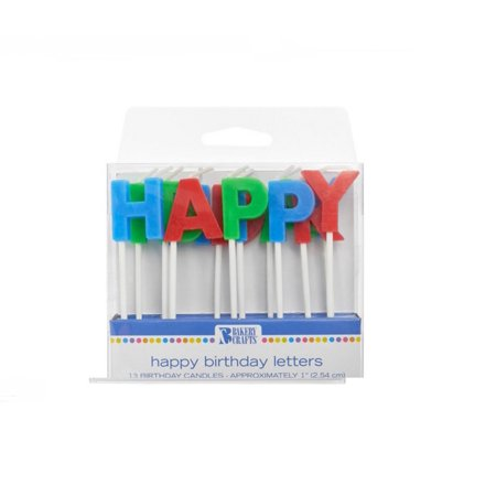 Wal Mart Bakery Happy Birthday Candles