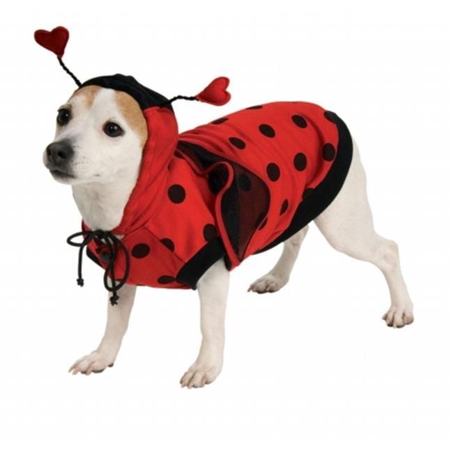 Pet Ladybug Costume Xlarge