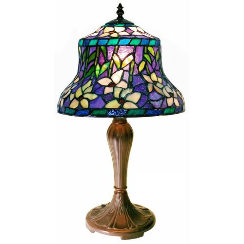 Warehouse of Tiffany 20'' H Table Lamp with Bowl Shade