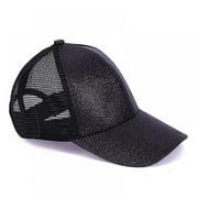 Forzero Adjustable Baseball Golf Hats Summer Kids Ponytail Tennis Cap Boys Girls Mesh Snapback Hat Running Hip Hop Caps