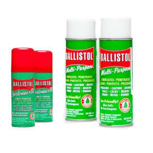 Ballistol Combo Pack No. 5 2-6oz, 2-1.5oz
