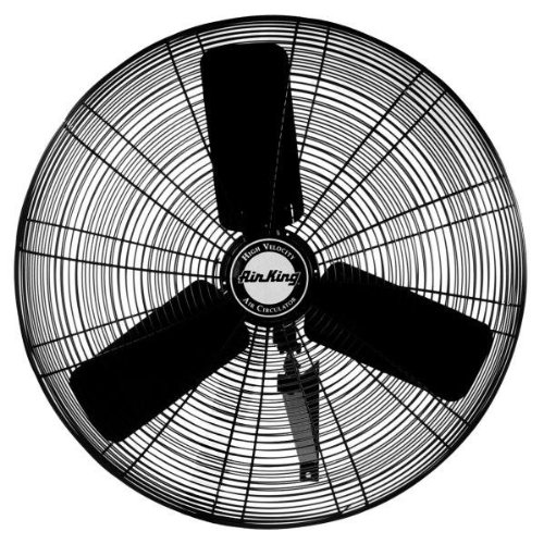"Air King 9074 24"" Oscillating Wall Mount Fan"