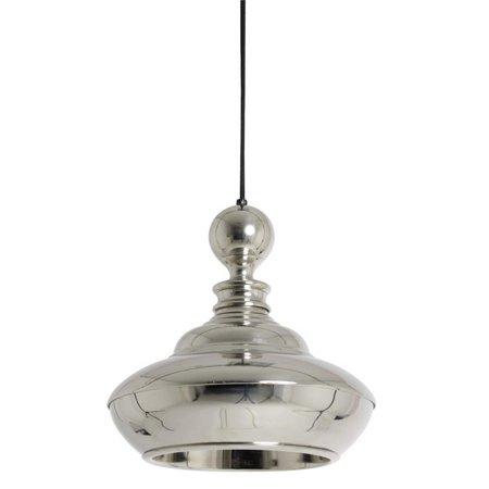 Urban Designs  Mirella 11.5-Inch Round Nickel Hanging Lamp ()