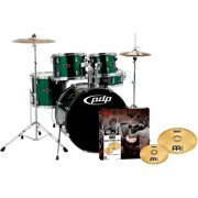 PDP Z5 5-Piece Drumset with Meinl Cymbals Emerald