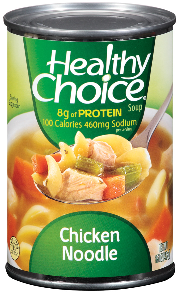 Healthy Choice Chicken Noodle Soup 15 Oz Can by Conagra Foods