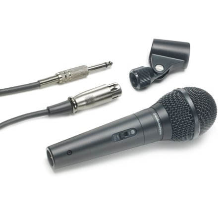 30 Handheld Dynamic Vocal Microphone - Audio-Technica ATR1300 Unidirectional Vocal Microphone - Dynamic - Handheld - 70Hz to 12kHz - Cable
