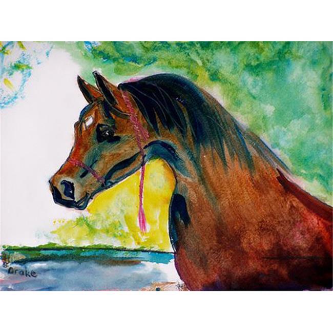 Betsy Drake DM050 Prize Horse Doormat 18 x 26