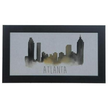 Crestview Collection CVA3586 Atlanta Wall Art - Walmart.com