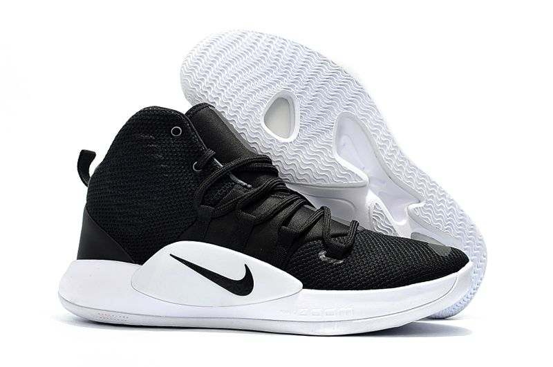 New Nike Hyperdunk X TB Black/White Men