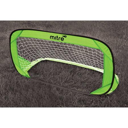 Mitre 4' x 2' Popup Soccer Goal (Includes Carry Bag)