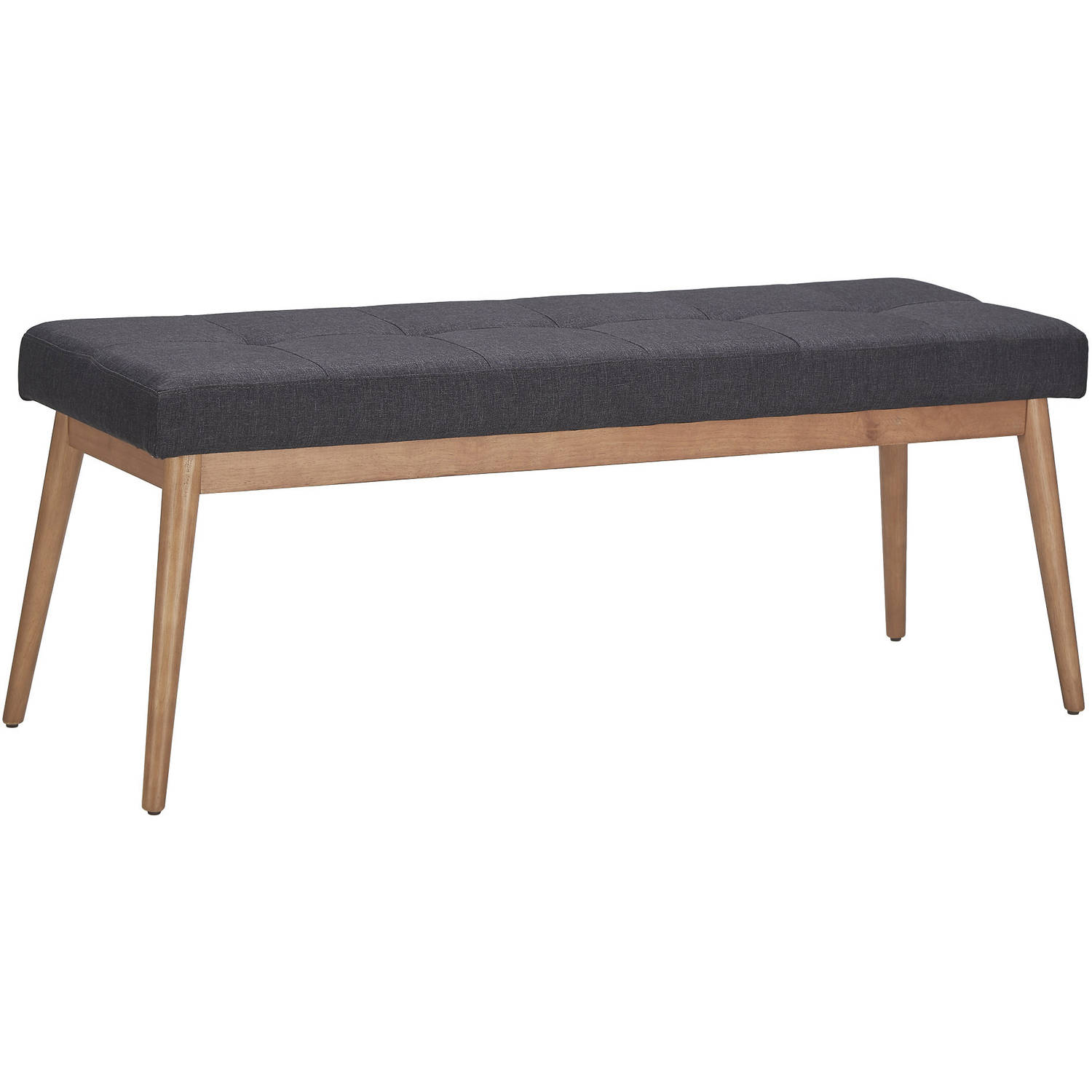 Chelsea Lane Baxter Dining Bench, Light Oak