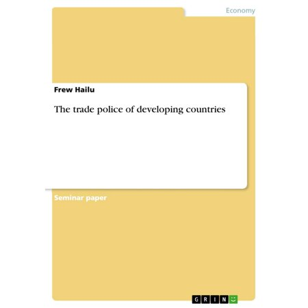The trade police of developing countries - eBook