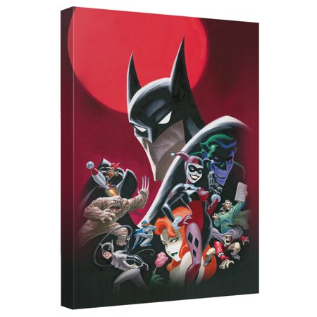 Batman Animated Poster Canvas Wall Art With Back Board - Animated Halloween Props Walmart