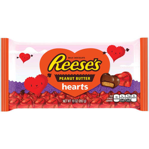 Reese's Valentine's Peanut Butter Hearts Candy, 10 oz