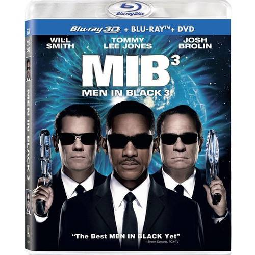 Men In Black 3 (3D Blu-ray + Blu-ray + DVD) (Widescreen)
