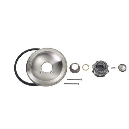 brasscraft satin nickel delta 600 series tub shower faucet trim kit