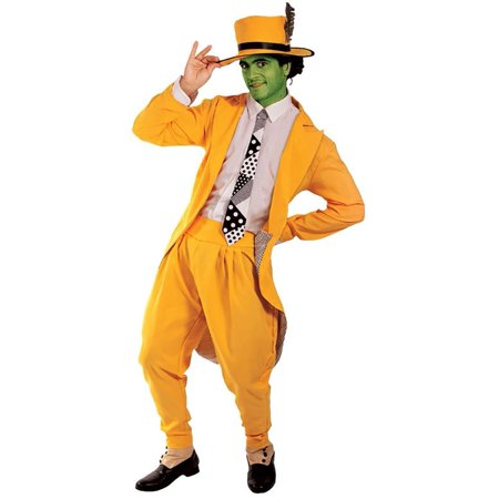 Manic Superhero/ The Mask Adult Costume - Superhero Costumes Adults