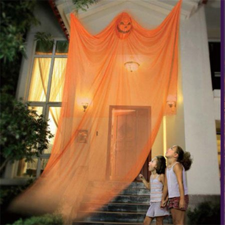 Halloween Party Hanging Creepy Ghost Prop Halloween Hanging Skeleton Flying Ghost Halloween Hanging Decorations for Yard Outdoor Indoor Party Bar