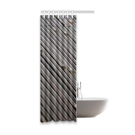 BSDHOME Bamboo Waterproof Polyester Bathroom Shower Curtain 36x72 Inches - image 1 of 2