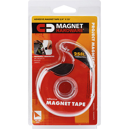 "Dowling Magnets Adhesive Magnet Tape Dispenser-3/4""X25'"