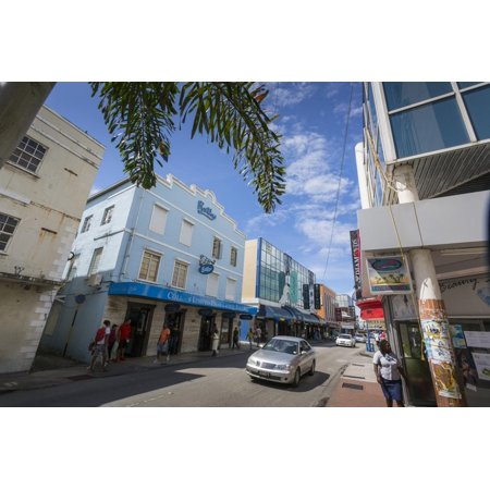 Architecture on Broad Street, Bridgetown, St. Michael, Barbados, West Indies, Caribbean, Central Am Print Wall Art By Frank Fell (Party City West Broad Street)