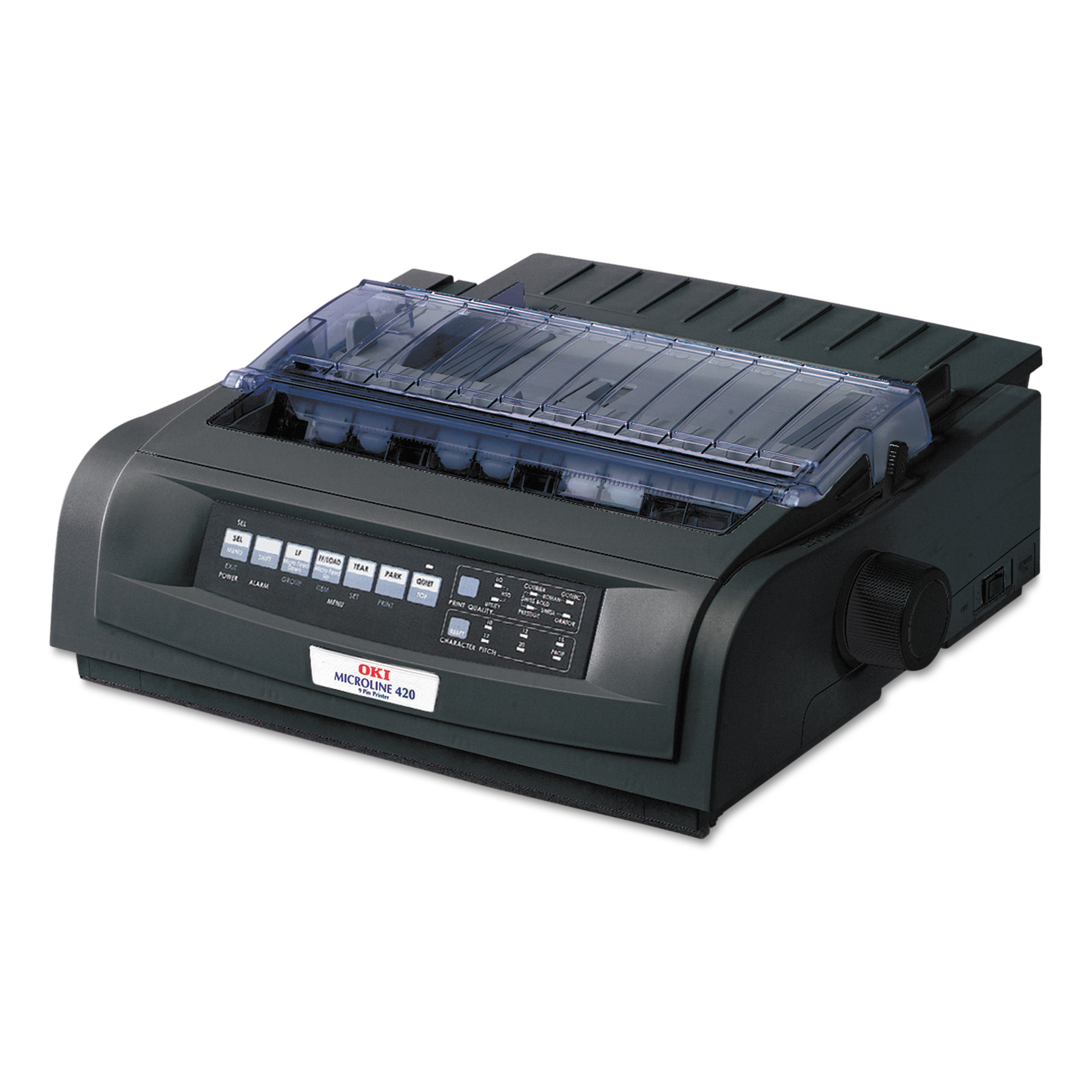 Oki Microline 420 Serial Narrow-Carriage 9-Pin Dot Matrix Printer